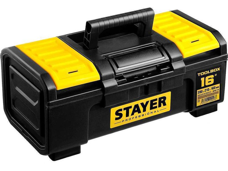 Ящик для инструмента TOOLBOX-16 пластиковый, STAYER Professional 38167-16