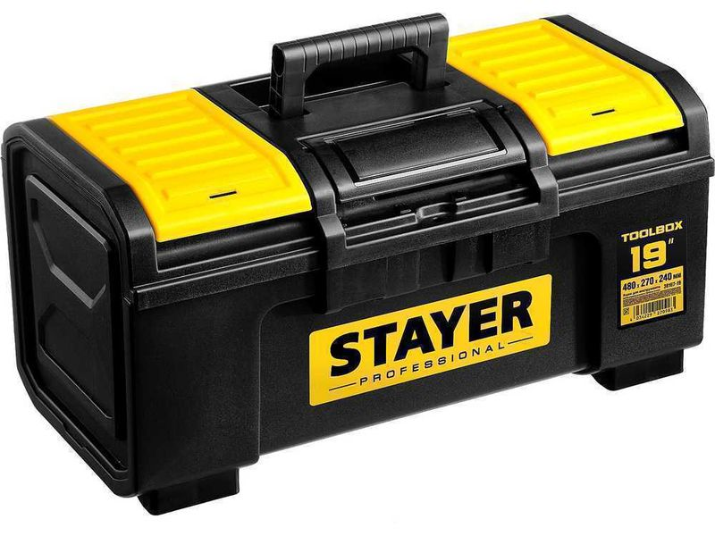 Ящик для инструмента TOOLBOX-19 пластиковый, STAYER Professional 38167-19