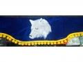 Ламбрекен лобового стекла с боковыми уголками Волк