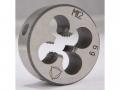 Плашка круглая М 4,0х0,7 метрическая левосторонняя, ГОСТ 9740-71, класс точности 6g, сталь 9XC