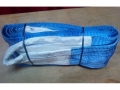 Трос буксировочный Сибиряк для авто 30 т, 5м, две петли, раз. нагр. 53 т, ширина 200мм